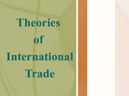Balance of Trade and Payment and Cost Theory of International Trade