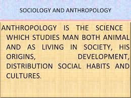 Basic Concepts in Anthropology and Sociology