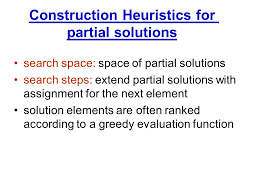 Partial Search and Heuristics