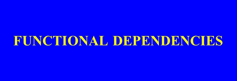Functional Dependencies (Chase Algorithm)