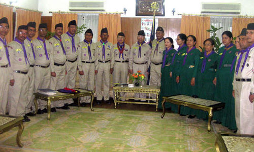 Roles of Scout in Nepal