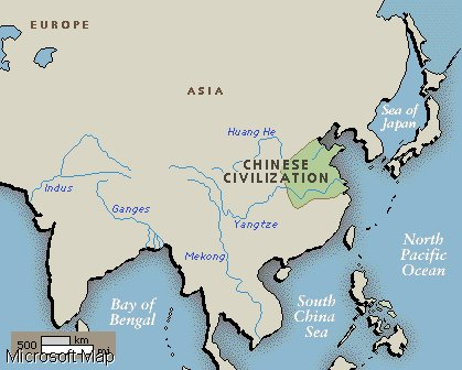 The Hwang -Ho Valley Civilization