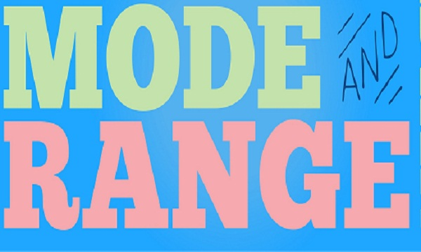 Mode and Range