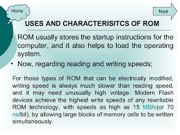 ROM and its uses