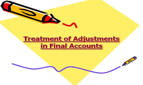 Adjustments in Final Accounts
