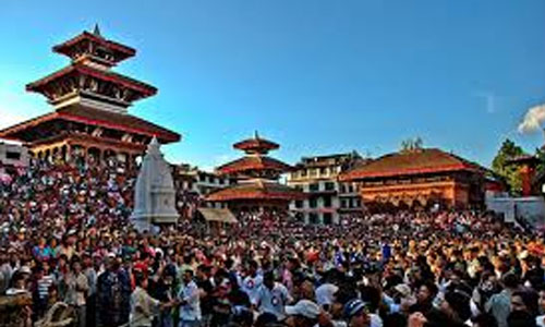 The first events in Nepal and those who introduced