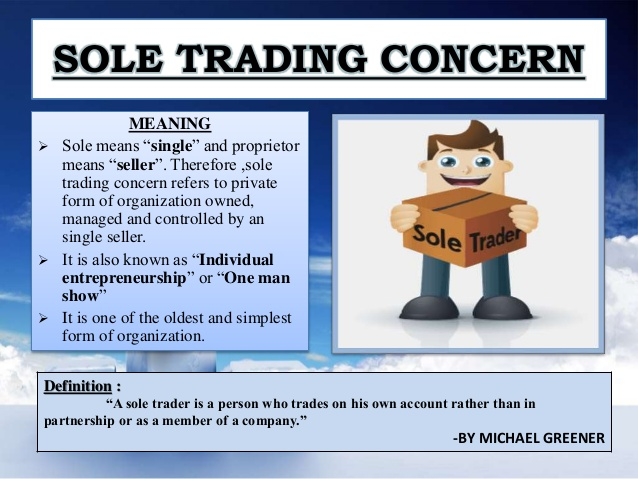Sole Trading Concern