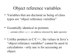 Class Fundamental Declaring Object Assigning, Object Reference Variables and Introducing Methods