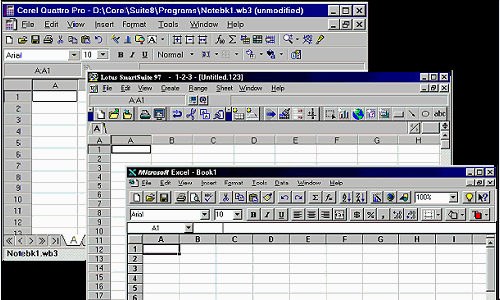 Spreadsheet Software