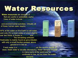 Water resources and Bio-diversity