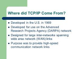 Standard TCP/IP Services