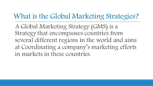 Global marketing strategy, component of marketing strategy, global branding, Importance of branding