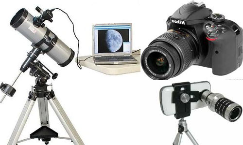 Telescope and Camera
