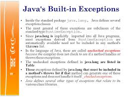 Java's finally and built-in exceptions