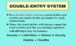 Double-Entry Book-Keeping System
