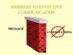 Types and Barriers to Effective Communication
