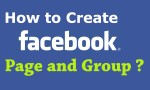 Using Facebook to Create Group and Page