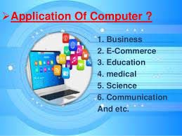 Application of the Computer
