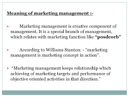 Meaning of marketing, marketing process and evolution of marketing philosophies