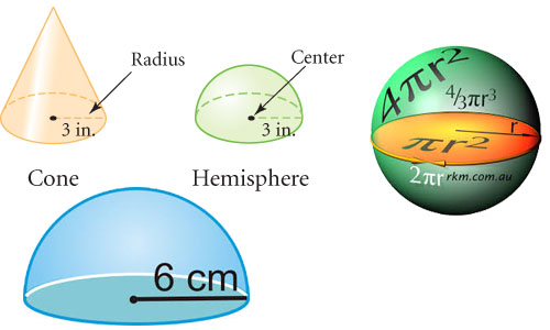 Sphere and Hemisphere