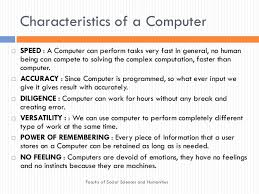 Computer System And It Application For Bachelor Of
