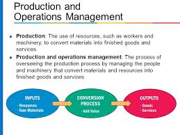Production and operation management, sourcing and logistics, managing global supply chain