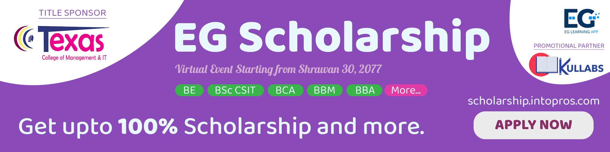 Scholarships after +2