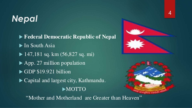 Source: www.slideshare.net Fig: Federal Democartic Republic Nepal
