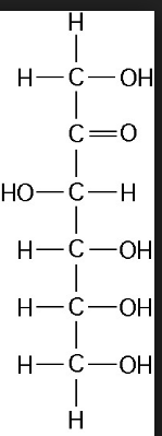 Structure of D(-) Fructose