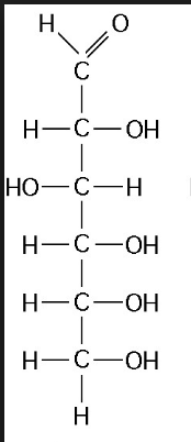 Structure of D(+) Glucose