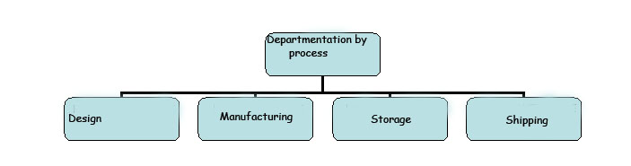 Departmentation by process