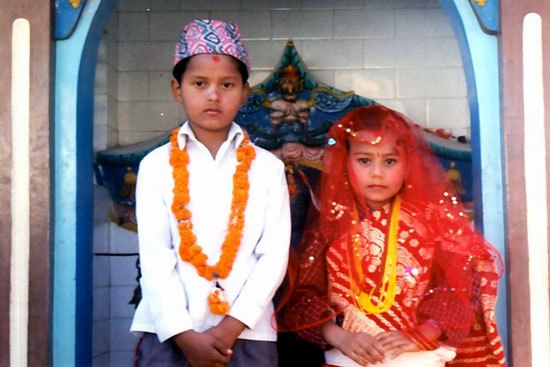 Source:www.nepalmountainnews.com Fig: Early Marriage