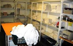 Linen Room (source www.hospitalityschool.com)