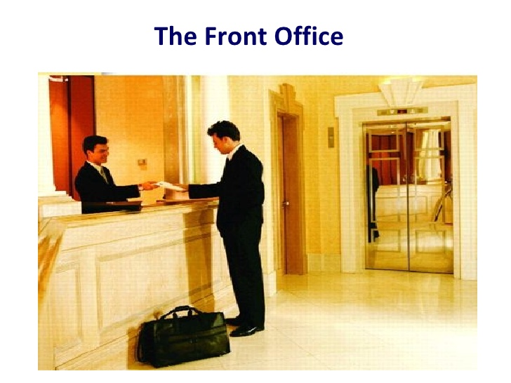 the front office essay