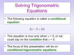 examples for Conditional Trigonometric Identities.