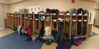 Lost and found section (source lawrencesschoolbrookline.com)