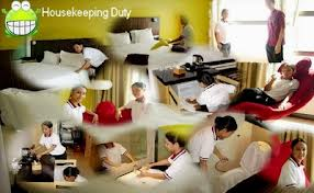 Housekeeping Department (source hotelmanagement123blogspot.com)