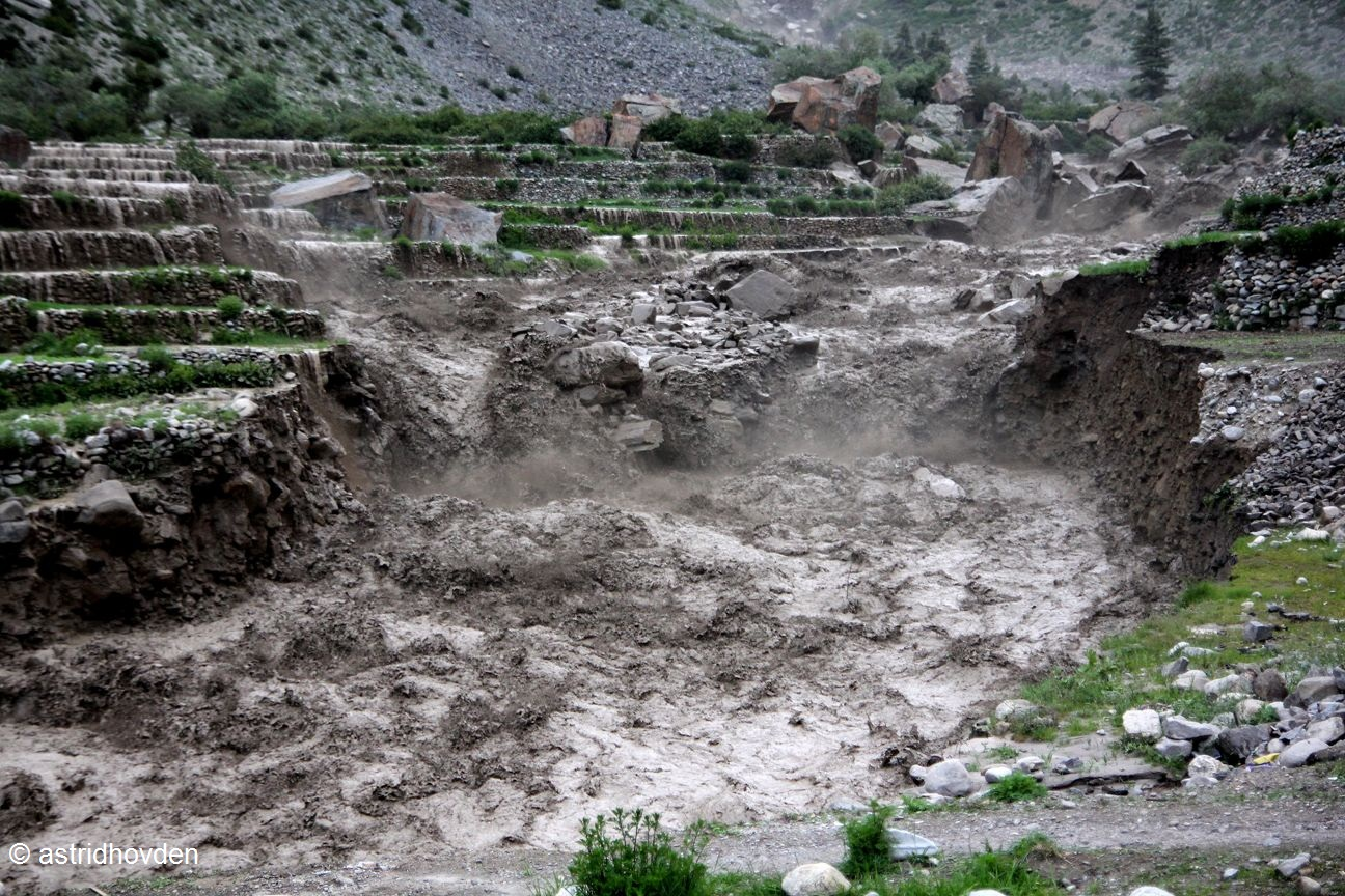 Source:floodinhumla.wordpress.com. Fig: Glacier Lake Outburst Flood