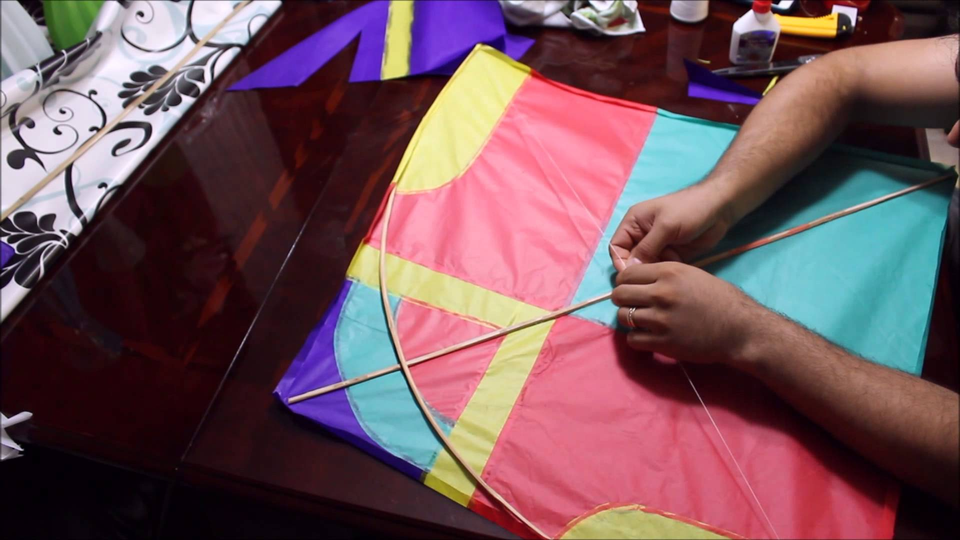 making of kite