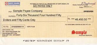 Order Cheque