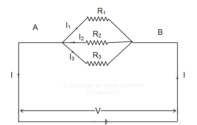 parallel combition of resistors