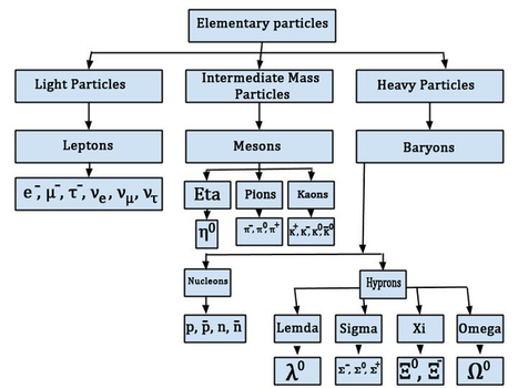 source ;letslearnnepal.com figure ;Classification of elementary particle