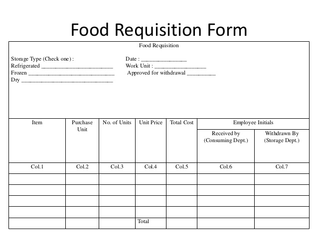 requisition form(source:www.slideshare.net638 × 479)