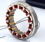 fig: Stator of synchronous generator