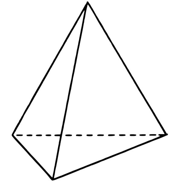 Source :www.kidsmathgamesonline.com Fig :Tetrahedron Picture - Images of Shapes