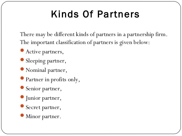 importance of partnership firm