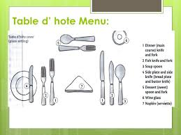 table d'hote cover(source:slideplayer.com960 × 720)