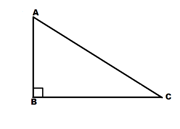 Solution of right angled triangle for Right angle house